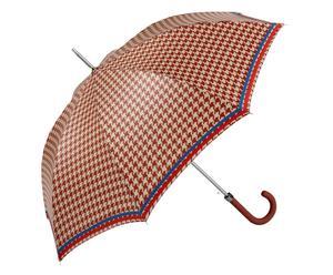 Automatik-Regenschirm Bette, rot/creme