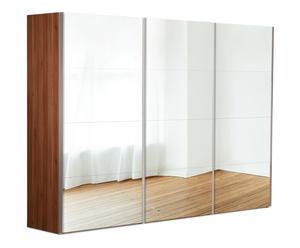 Kleiderschrank Tana, walnuss, B 300 cm