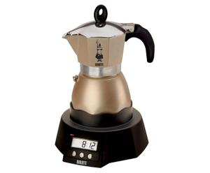 Elektrischer Espressokocher Easy Timer, pearl