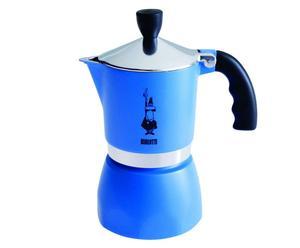 Espressokocher Fiammetta, blau