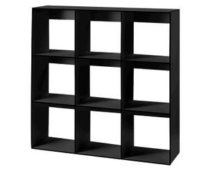 Regalmodul HP 3x3, schwarz