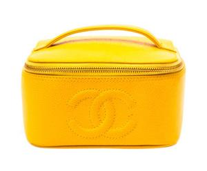Chanel Kosmetikkoffer, gelb