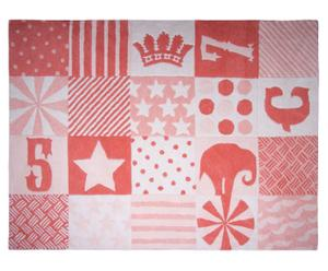 Teppich Play, rot, 130 x 180 cm