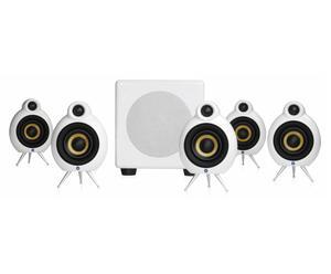 Lautsprecher-Set für 5.1 Surround Sound, 6-tlg.