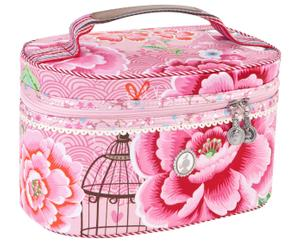 Beautycase PARADISE, pink, L 27 cm