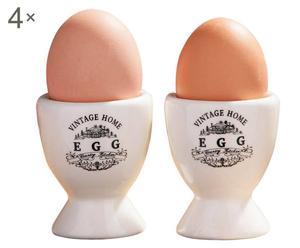Eierbecher Vintage, 8 Stück