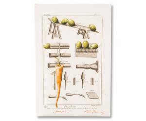 Leinwanddruck Gemüsefabrik I, 40 x 60 cm