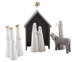 Keramikfiguren-Set Nativity, 7-tlg.