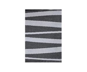 Kunststoffmatte GAVA, dunkelgrau/schwarz, 70 x 100 cm