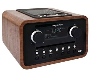 Audio-System ALIO CD/DAB+/FM/Dock, walnussbraun