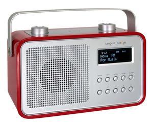 Portables Radio DAB2go, rot