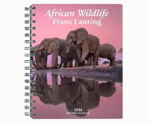 Taschenkalender Lanting Okavango mit Spiralbindung, 19 x 23 cm