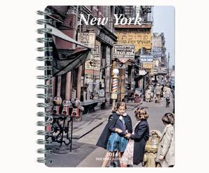 Taschenkalender New York mit Spiralbindung, 19 x 23 cm