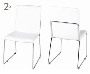 Stühle Kilian, 4 Stück weiß
