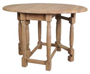 Tisch Pit, eiche natur, aufklappbar, Ø 45 bis 115 cm