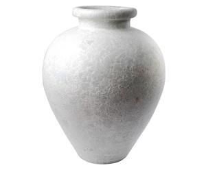 Deko-Bodenvase Tessa, natur-weiß, H 60 cm