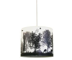 Lampenschirm Quiet Revolution/ Grey, Ø 55 cm