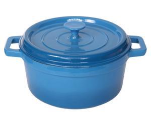 Kochtopf Bergerac, blau, Ø 20 cm