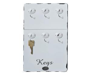 Wand-Schlüsselbrett Arelynn, B 20 cm