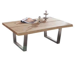 Massivholz-Couchtisch Benedetto, B 120 cm