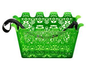 Fahrradkorb Carrie, grün, 23 x 45 cm