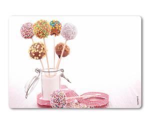 Deko-/Wand-Spritzschutz Cake Pops, 41 x 59 cm