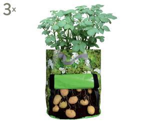 Kartoffel-Pflanztaschen Isi, 3 Stück, T 44 cm