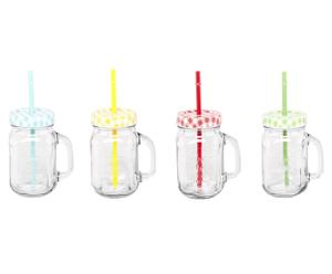 Becher-Set James, 4-tlg., H 13 cm