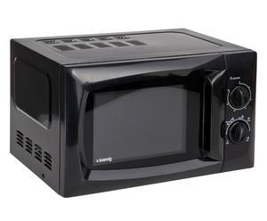 Mikrowelle VIO5, schwarz, B 44 cm