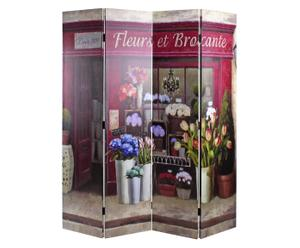Paravent Fleurs, B 153 cm