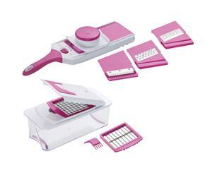 Küchenhelfer-Set Linda, 11-tlg., weiß/pink
