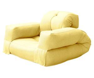 Multifunktionaler Futon-Sessel Hippo, gelb