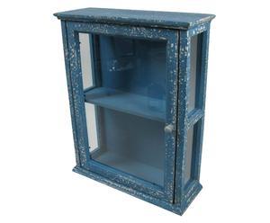 Wandschränkchen Nana, blau, L 49 cm