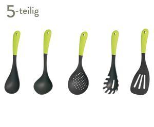 Küchenhelfer-Set Trendy, grün, 5-tlg.