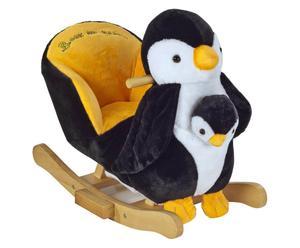 Schaukel-Spielzeug Pingu mit Handpuppe