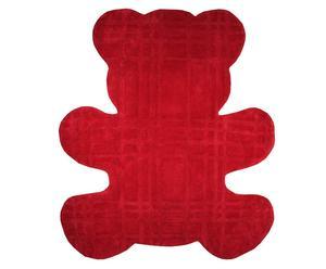 Teppich Teddy, rot, 100 x 120 cm