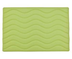 Wende-Badvorleger Memphis, limonengrün/anthrazit, 50 x 60 cm