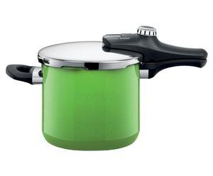 Dampfkochtopf Sicomatic econtrol mit Deckel, 6500 ml, grün