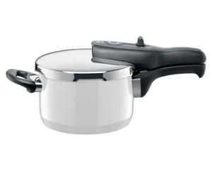Dampfkochtopf Sicomatic t-plus mit Deckel, 2500 ml, weiß