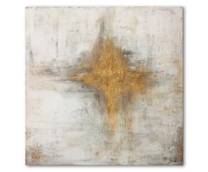 Druck auf Leinwand Angel showing, 100 x 100 cm
