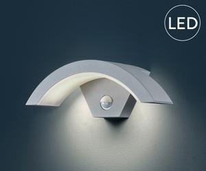 LED Wandleuchte Bruno, grau/weiß, B 30 cm