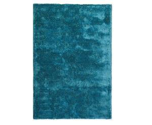Handgewebter Teppich Lowland, türkis 140 x 200 cm