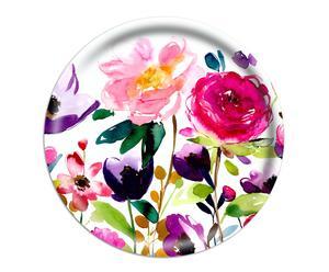Tablett The Red Rose, Ø 49 cm