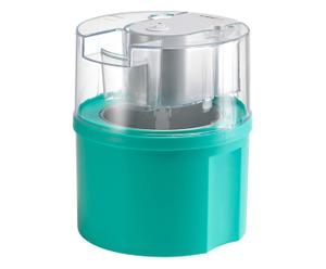 Eismaschine Ice-Fixx, türkis/transparent, B 18 cm
