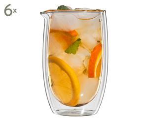 Doppelwandiges Tee-Glas Gyokuro, H 13 cm
