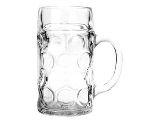 Bierkrug Maß Bavaria, H 21 cm