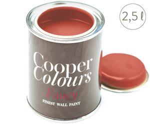 Wasserlösliche Wandfarbe Mumbai Pepper, korallenrot, 2,5 l