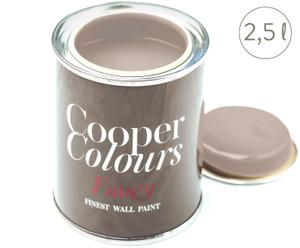 Wasserlösliche Wandfarbe Melbourne Grey, taupe, 2,5 l