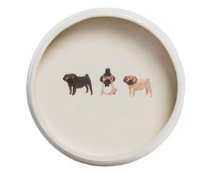 Hundenapf Mops, Ø 18 cm