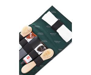 Schuhputz-Set Adrien, 6-tlg., schwarz, B 20 cm